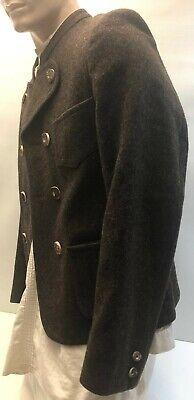 ☛ Originale dunkelbraune Miesbacher Trachten Jacke Karl Jäger  Gr:46/48 ☚ 2