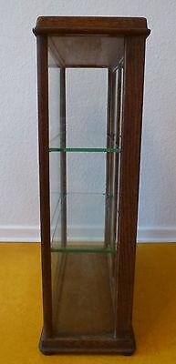 Vitrine Glas Holz Verkaufsvitrine Kolonialwaren Tante Emma Laden um 1900 7