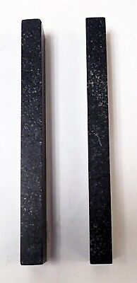 "RAHN PRECISION BLACK GRANITE METROLOGY PARALLELS  9 X 1.5 x 0.75"" 4"