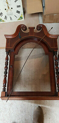 Richard Clinton Longcase Grandfather Clock 4