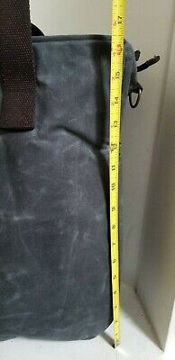 CB STATION Waxed Canvas Multi Pocket Travel Tote / Bag - NEW WITHOUT TAGS 3