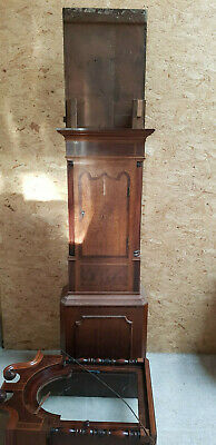 Richard Clinton Longcase Grandfather Clock 2