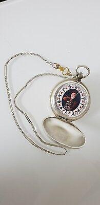 Antique Bronze Grandwizer Ahmet Muhtar Pasha Le Roy a Paris 25Rubis Pocket Watch 10