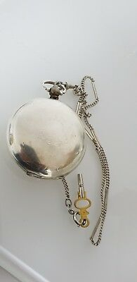 Antique Bronze Grandwizer Ahmet Muhtar Pasha Le Roy a Paris 25Rubis Pocket Watch 12
