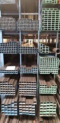 "2pcs of 2"" x 2"" x 11 GA (.125) Hot Rolled Steel Square Tubing x 12"" Long 2"