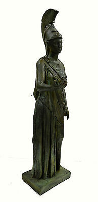 Athena Piraeus Goddess of Wisdom Great bronze Pallas sculpture statue artifact 2 • CAD $4,876.33