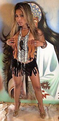 Indianerschmuck * Kostüm * Brustpanzer * Indianer Kette 4