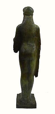 Caryatid Caryatis Kore Ancient Greek aged Great statue bronze sculpture artifact 7