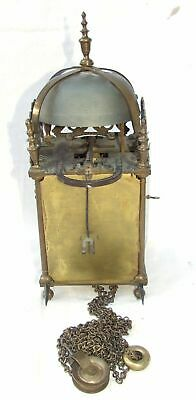 Hook and Spike Lantern Clock in Manner of Antique 16th / 17th Lantern Clock 12