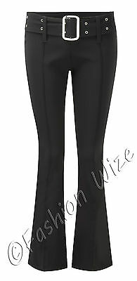 Girls Black Grey Navy School Trousers Sizes 4-16 Miss Sexies Miss Chief Bootcut 2