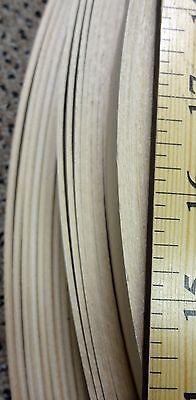 mahogany Sapele Unglued Wood Veneer Edging 1mm Thick x22mm x 100m Edgebanding