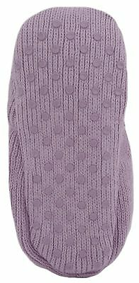 RJM Girls Soft Knitted Cat Slipper Socks with Grippy Soles 12