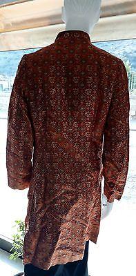 Abito Etnico In 100% Seta Ethnic Dress Silk 100% Made In Nepal 2