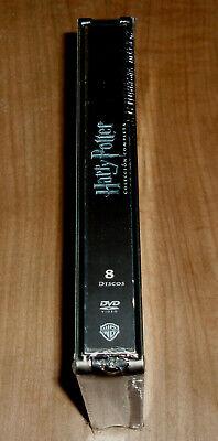 Harry Potter Coleccion Completa 1-8 Dvd Caja Metalica Jumbo Nuevo Precintado R2 5