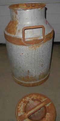 milch kanne milchkanne  BMV rottweil alt behälter top garten  deko zum bemalen 6