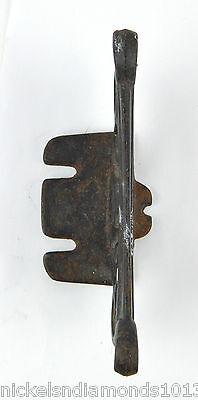 "Antique Rustic Cast Iron 5"" Mountable Boot Scrape Scrolling Primitive 3"