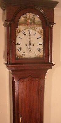 "Antique Mahogany  ""  Halifax  ""   Longcase /grandfather Clock"