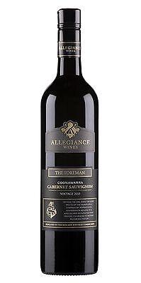 2013 X 6 Allegiance The Foreman Coonawarra Cabernet Sauvignon