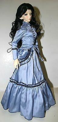 Bustle About Victorian Pattern for 1//3 BJD SD Female AOD Dollfie