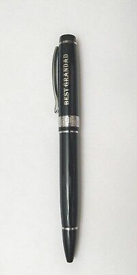 BEST GRANDAD Named Personalised Men Pen JRose Collections Gift Boxed By Sterling Effectz