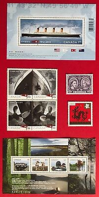 Canada 2012 Postage Stamps - Complete Year Annual Collection Stamp - Free Ship 2