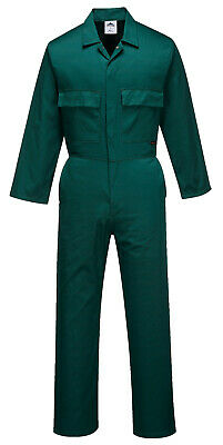 Portwest S999 Euro Polycotton Multipocket Work Coverall with Front Snap Closure 6