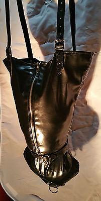 Single Glove Black Armbinder with Long Zipper arm binder UK MonoGlove