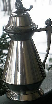 Antique Silverplated Syrup Pitcher Meriden Britannia Pat. July 1, 1873 5