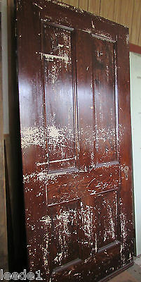 Large Interior Four Panel 84 x 38 Door 1850 Greek Revival Michigan Home Salvage