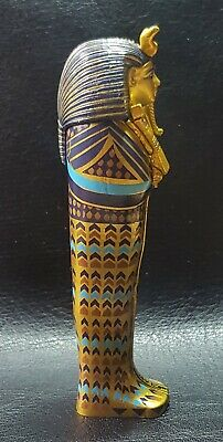 TUTANKHAMUN Detailed Reproduction Canopic Coffinette 4