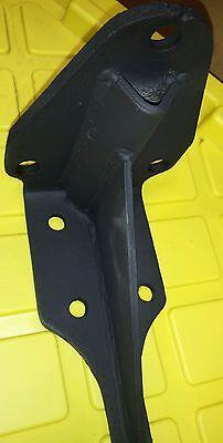 2 Shelf Brackets old vintage heavy duty steel mantelcounter support 3