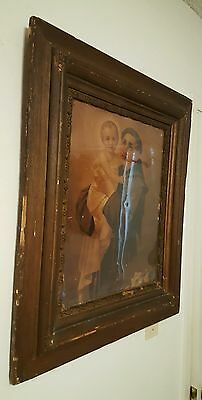 ANTIQUE Saint Anthony Padua circa 1880-90's picture.  SAN ANTONIO City's 300th 5