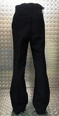 Men's Clothing Clothing, Shoes & Accessories British Royal Navy Rn Class Ii Black Flared Bell Bottom Sailors Trouser