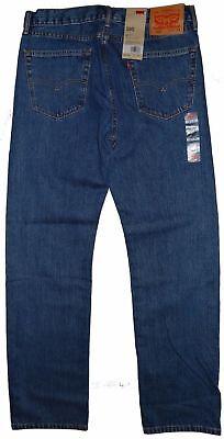 "Levis 505 Regular Fit Jeans Medium Blue Stonewash #4891 """""" Many Sizes """""" 2"