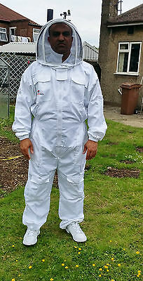 Beekeeping suit Beekeepers Bee Suit with Fencing Veil-All sizes UK Seller 6