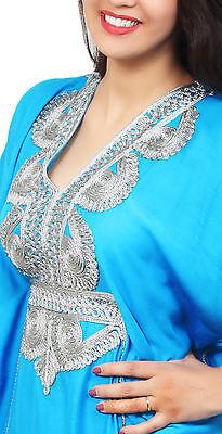 Moroccan Caftan Women kaftan Arabian Beach Dress Fancy Abaya Middle East Cheap 2