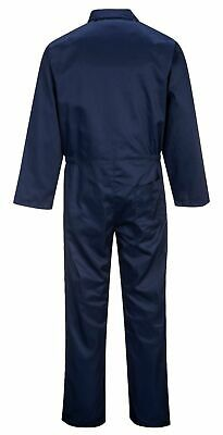 Portwest S999 Euro Polycotton Multipocket Work Coverall with Front Snap Closure 5