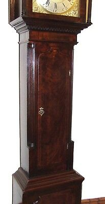 Antique 8 Day Georgian Inlaid Mahogany Longcase Clock ALEX GORDON DUBLIN 7