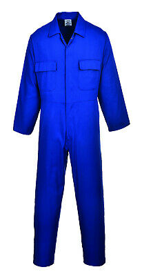 Portwest S999 Euro Polycotton Multipocket Work Coverall with Front Snap Closure 8