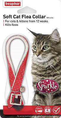 2x Beaphar Cat Flea Collar Sparkle 3
