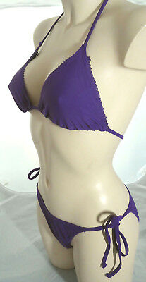 20x Janet Reger Designer Kaftan in Purple Strand Bluse Chiffon Restposten Joblot