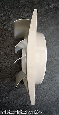 Insektengage Rückstauklappe Teleskop-Mauerkasten rund 125mm mit Lamellengitter