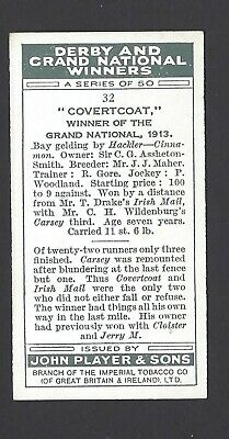 Player - Derby And Grand National Winners - #32 Covertcoat 2