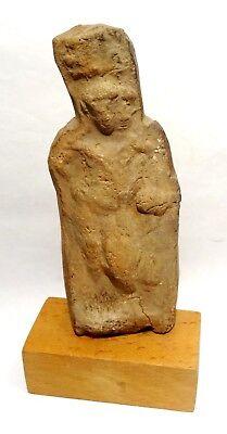 Estatuilla Egyptiennne Harpocrate - 30BC - Antiguo Egipcio Figura Roman Periodo 7