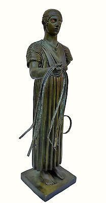 Charioteer Bronze statue of Delphi Ancient Greek reproduction sculpture artifact 2