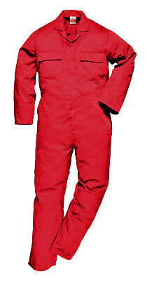 Portwest S999 Euro Polycotton Multipocket Work Coverall with Front Snap Closure 10