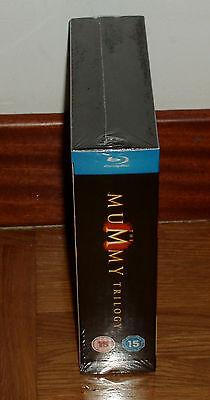 Trilogia La Momia 3 Blu-Ray Nuevo Precintado Aventuras Español (Sin Abrir) R2 4