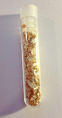 Vial Full of Gold Leaf/Flake (Awesome Gift)