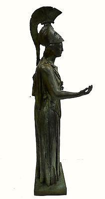 Athena Piraeus Goddess of Wisdom Great bronze Pallas sculpture statue artifact 4 • CAD $4,876.33