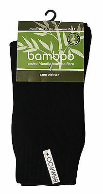 Bamboo Textiles Extra Thick 92% Bamboo Work Socks All Sizes All Colours Unisex 2